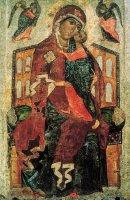 Ярославская Толгская икона Божией матери и один из первых обыденных храмов.